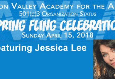 Mon Valley Academy for the Arts to Hold Second Annual Spring Fling April 15, Featuring Jessica Lee