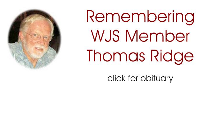 Remembering Longtime Washington Jazz Society Member Thomas Ridge