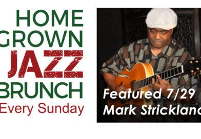Mark Strickland 7/29 at the WJS Jazz Brunch