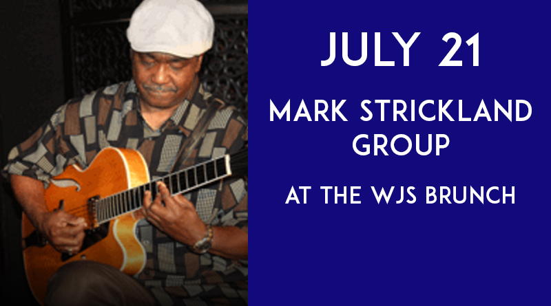 Mark Strickland at the WJS Brunch July 21 at the Presidents Pub