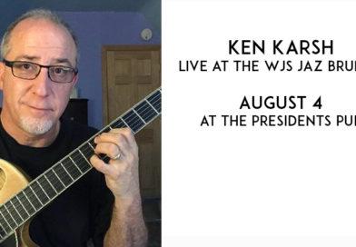 Ken Karsh at the WJS Brunch August 4